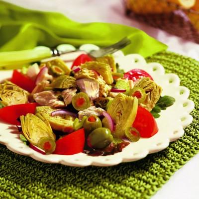 Artichoke Tuna Salad