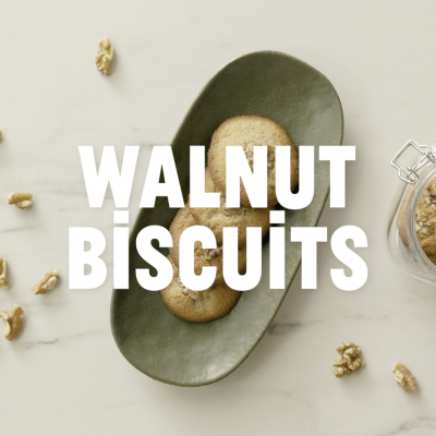 star - walnut biscuits