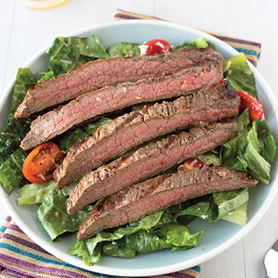 This Easy Grilled Steak Salad recipe is super fresh, flavorful, and simple. #STARFineFoods