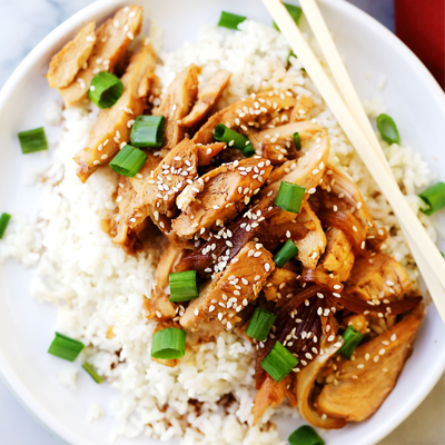 One pot and about 30 minutes are all you will need for this effortless, yet amazing Teriyaki Chicken recipe. #STARFineFoods