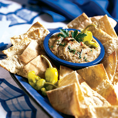 Creamy, savory, and delicious! Try this Eggplant Caviar recipe and serve with any of your favorite crackers!  #STARFineFoods
