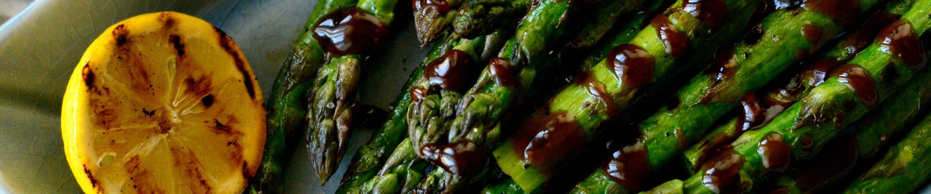 Grilled Asparagus with Balsamic Honey-Dijon Vinaigrette - # ...