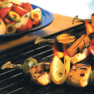 From BBQ's with the neighborhood to cooking with the family, this Grilled Chicken Kabobs recipe is perfect for almost any occasion!   #STARFineFoods