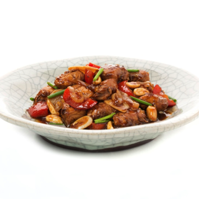 Add some spice to your dinner menu with this mouthwatering recipe for Kung Pao Chicken! #STARFineFoods