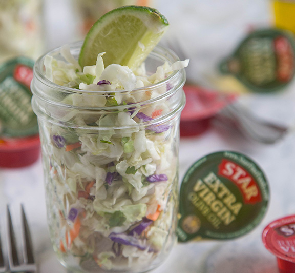 Mexican Coleslaw Recipe– Not just your average coleslaw this is a quick and easy side dish for just about any meal.  Also great on burgers or tacos!
