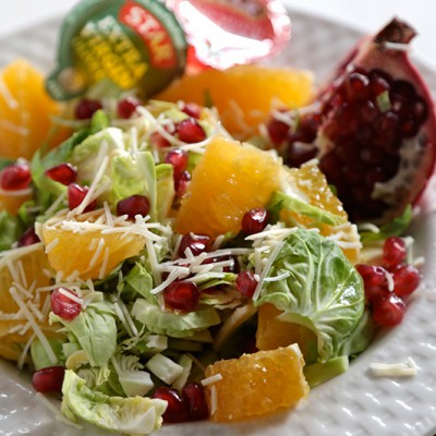 Pomegranate-Citrus-Brussels-Sprout-Salad