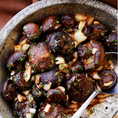 Roasted-Italian-Mushrooms-Featured