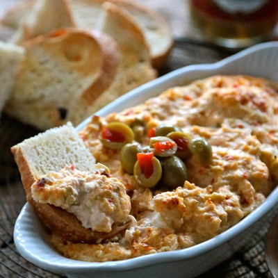 Roasted Red Pepper Olive Dip