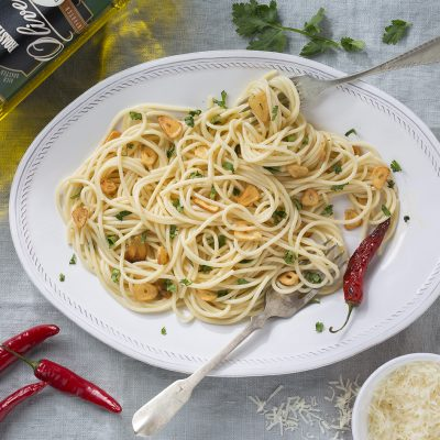 STAR - easy spaghetti aglio e olio
