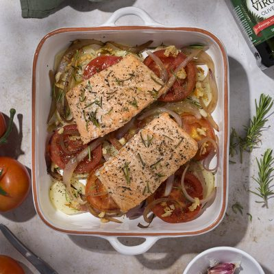 STAR - baked salmon