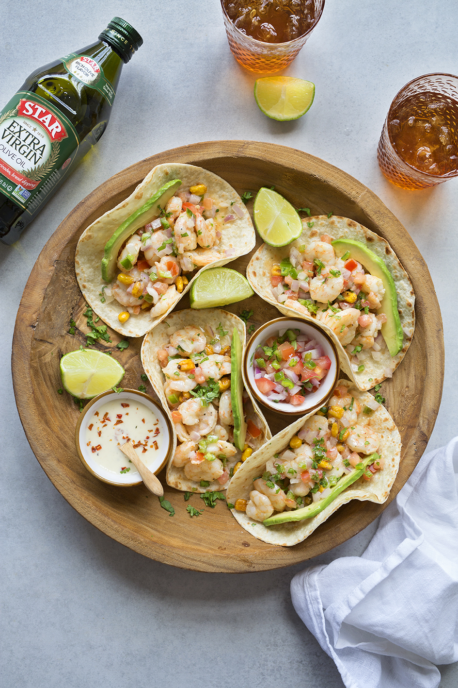 It's hard to believe that such a simple recipe could be so tasty and healthy. Once you've tried these shrimp tacos, you'll never look back!  #STARFineFoods