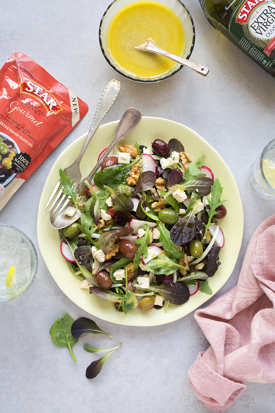 Original, sophisticated and packed with nutrients, this salad makes the perfect lunch to pack for work and a great starter when you have dinner guests. It never fails! #STARFineFoods