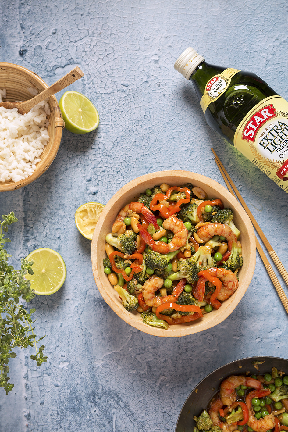 Shrimp Stir Fry #STARFineFoods