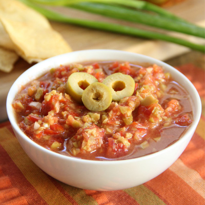 This salsa is so flavorful and refreshing, perfect to serve at any party! Serve with chips or toasted baguette slices. #STARFineFoods