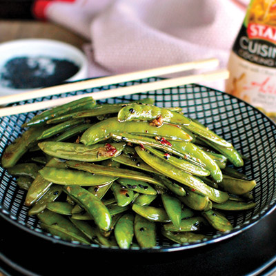 Spicy-Roasted-Sugar-Snap-Peas