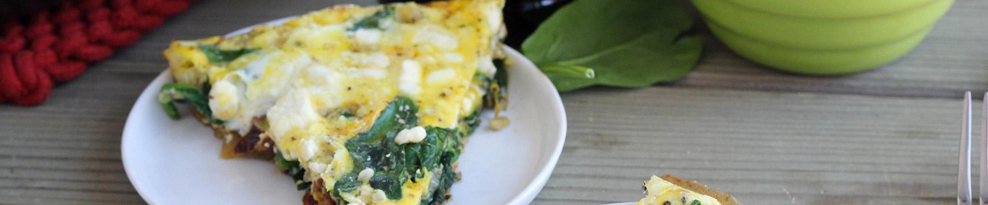 Spinach, Artichoke & Sun-Dried Tomato Frittata - # ...
