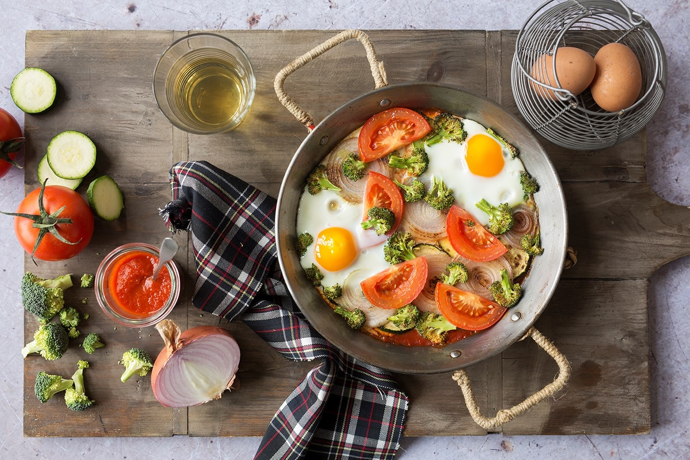 If you feel like having something light, yet delicious, this is the perfect recipe. It's light and perfect for any time of day: breakfast, brunch, lunch or dinner. #STARFineFoods