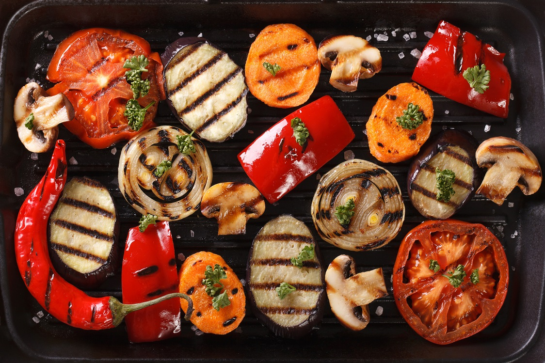 Grilled veggies are the perfect side to any meat dish. They're not only delicious, they're so easy to make. Try it for yourself! #STARFineFoods