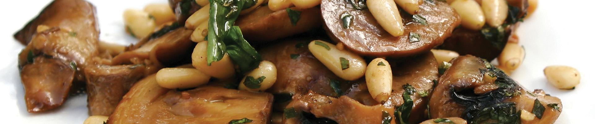 Warm Mushroom Salad - #STARFineFoods