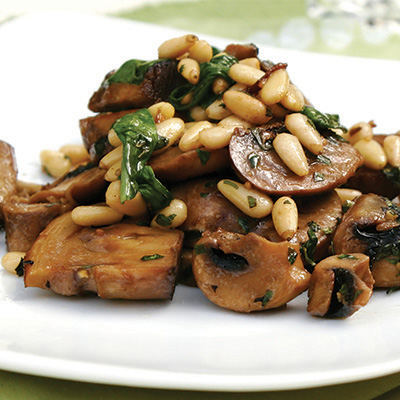 This recipe creates a tasty mushroom salad that is perfect to enjoy as a light snack or a side dish for your favorite entree! #STARFineFoods