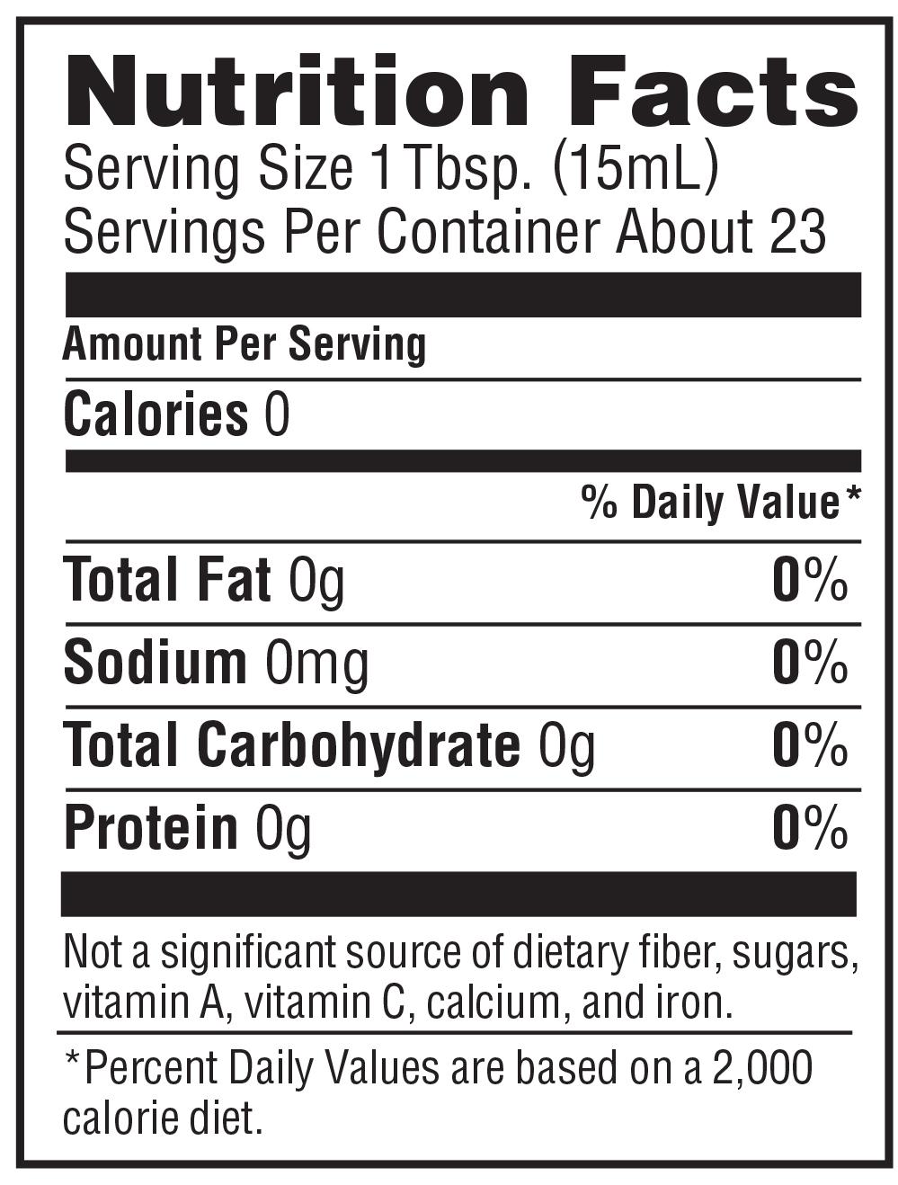 balsamic vinegar calories 1 tbsp